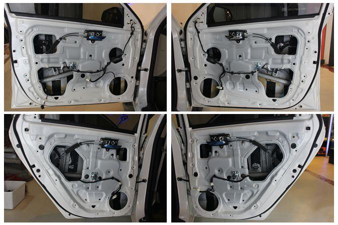 四车门+后备箱隔音图片