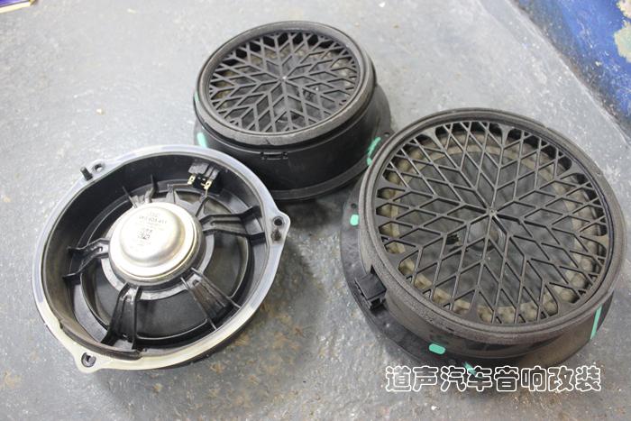 重庆奥迪A4音响改装