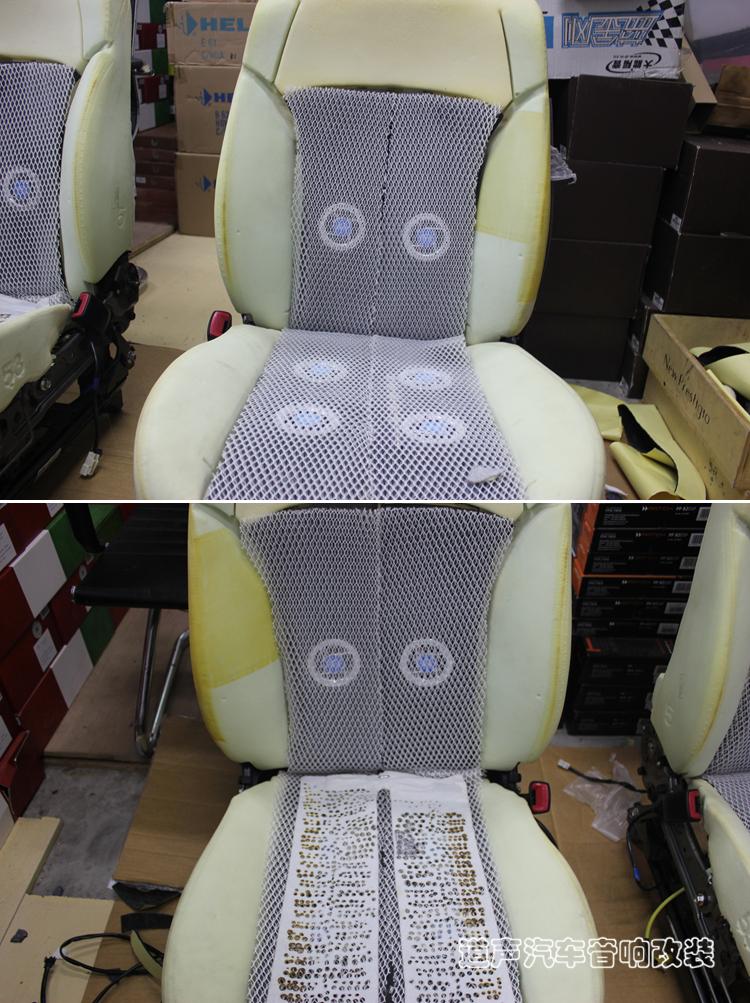 重庆斯巴鲁傲虎通风座椅改装