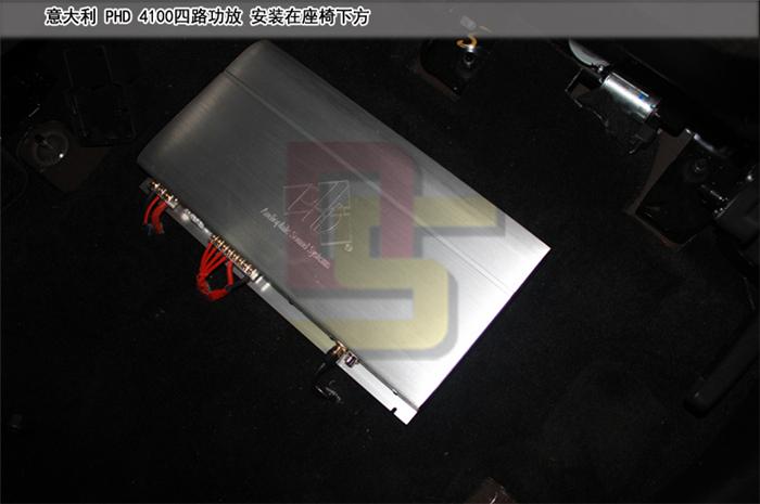 重庆福特锐界音响改装 意大利ATI悠扬两分频 精巧同轴 PHD功放 K牌低音炮 重庆道声
