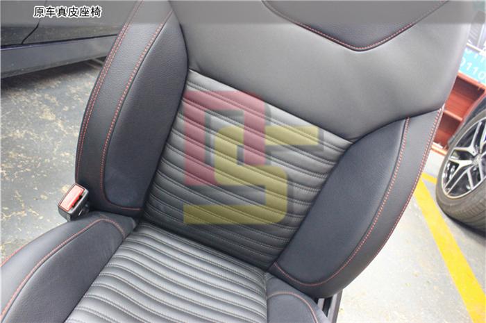 重庆奔驰GLE450通风座椅改装 避暑必备装置 重庆道声音响改装