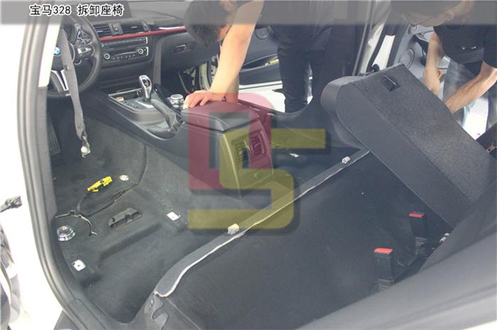 重庆宝马328全车隔音降噪 欧洲纯进口环保材料赛伦科特 重庆道声